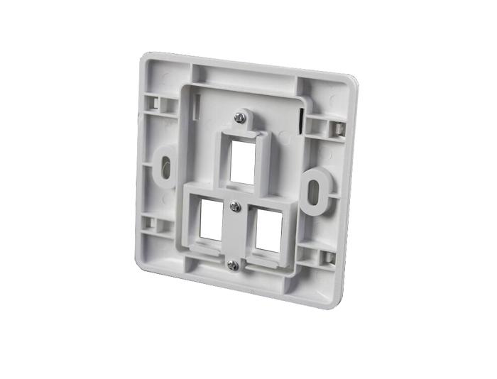 86x86 Type, Triple Port, Faceplates TSF-301D