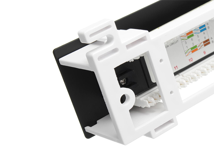 12 Ports Cat6 Unshielded Patch Panel Wall Mount TSF-302F2
