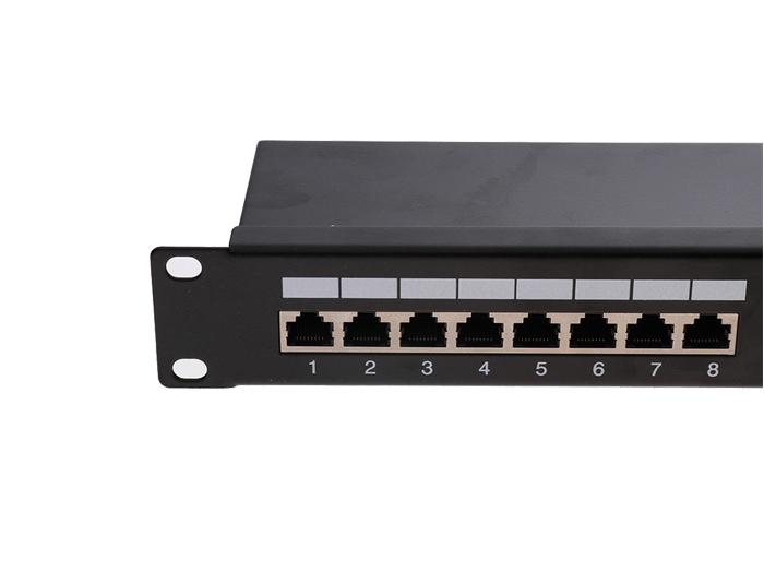 24 Ports Cat5e FTP Shielded 1U Patch Panels TSF-303J1