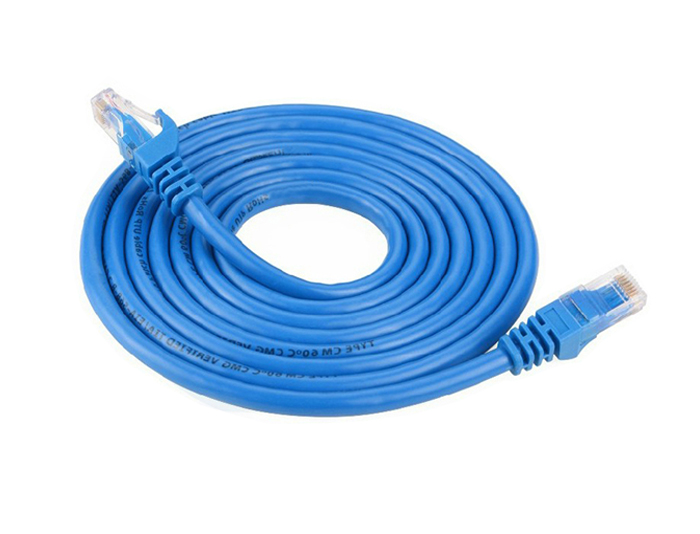 Cat6 Unshielded Ethernet Network Patch Cable,5M,Blue,1000Base-T TSF-305B
