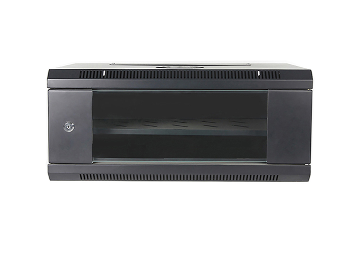 4U Wall Mount Network Cabinet, Black / Grey, TSF-206A