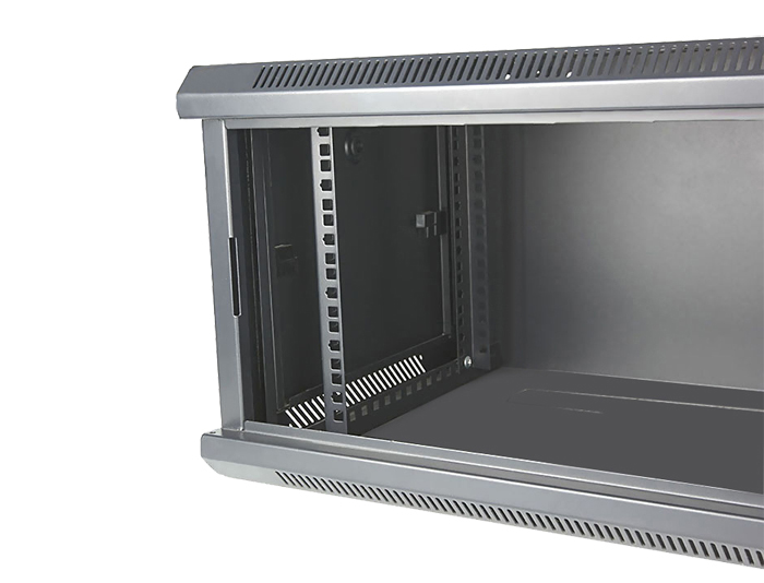 6U Wall Mount Server Rack, Black / Grey, TSF-206B