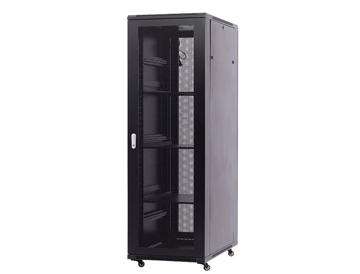 42U Server Rack / 42U Network Cabinet with Perforated Door, TSF-207C