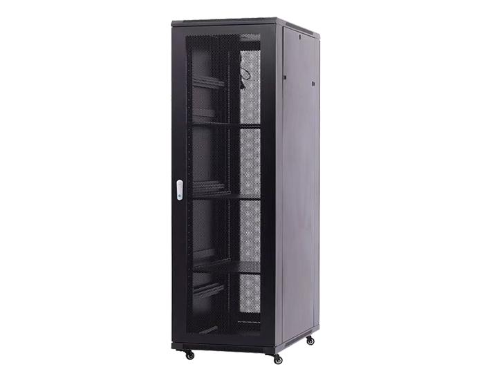 42U Server Rack / 42U Network Cabinet with Perforated Door, TSF-207C