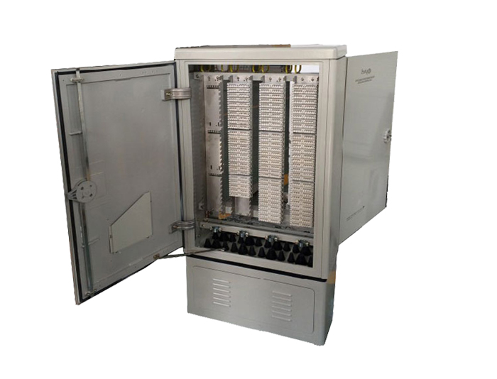 1200 Pair Copper Cross Connection Cabinet With Krone Module TSF-204A